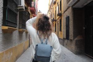 Dans les rues de Séville, en route pour la suite !