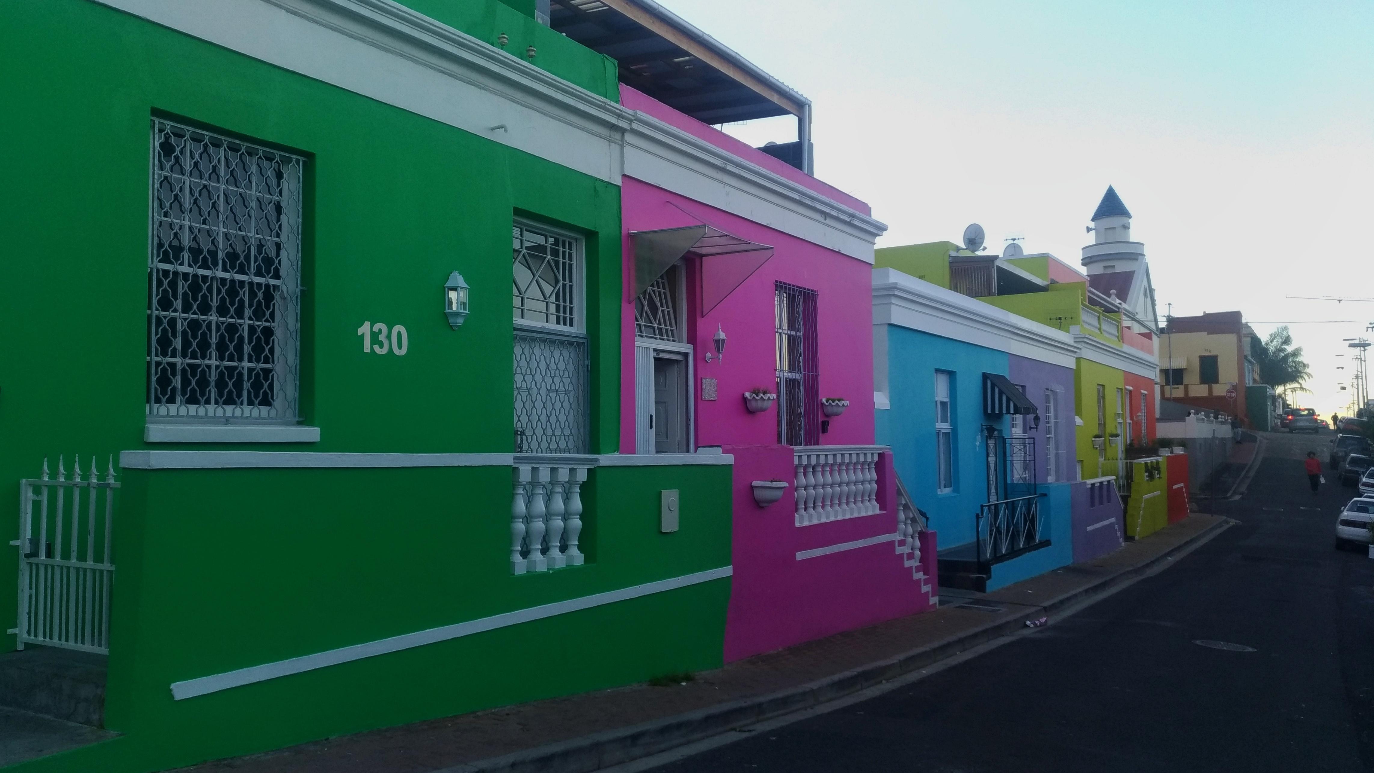 Bo Kaap, un quartier de Cape Town