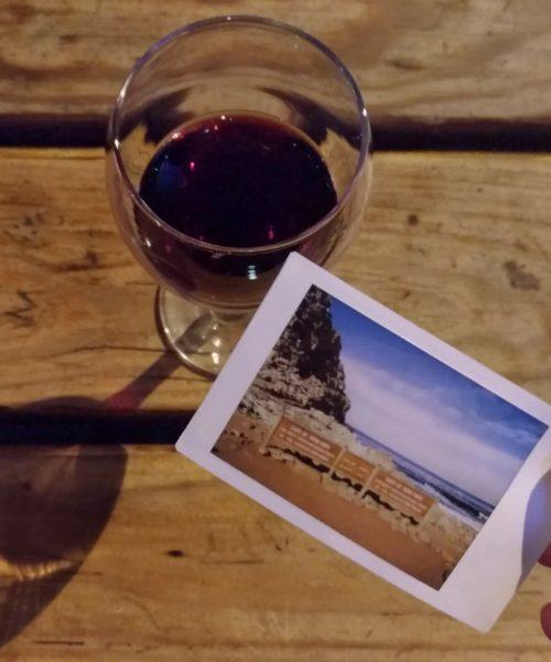 Vin et Polaroid